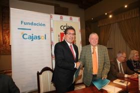 """Firma de convenio 2018 entre la Real Academia de Córdoba y la Fundación Cajasol (9) • <a style=""""font-size:0.8em;"""" href=""""http://www.flickr.com/photos/129072575@N05/26960361498/"""" target=""""_blank"""">View on Flickr</a>"""