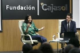 """Presentación del libro 'Recetas para vivir con salud' de Odile Fernández, en la Fundación Cajasol (5) • <a style=""""font-size:0.8em;"""" href=""""http://www.flickr.com/photos/129072575@N05/40705849771/"""" target=""""_blank"""">View on Flickr</a>"""
