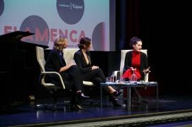 """Presentación del libro 'Flamenca', de Raquel Revuelta, en la Fundación Cajasol (13) • <a style=""""font-size:0.8em;"""" href=""""http://www.flickr.com/photos/129072575@N05/46646884062/"""" target=""""_blank"""">View on Flickr</a>"""
