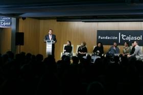 """Goya 2019 en Sevilla: Encuentro con los nominados a Mejor Película Iberoamericana en la Fundación Cajasol (5) • <a style=""""font-size:0.8em;"""" href=""""http://www.flickr.com/photos/129072575@N05/46242150564/"""" target=""""_blank"""">View on Flickr</a>"""