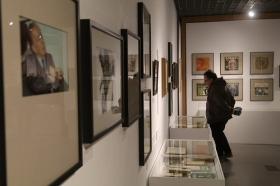 "Exposición 'El infinito Borges' en Córdoba (32) • <a style=""font-size:0.8em;"" href=""http://www.flickr.com/photos/129072575@N05/32867994128/"" target=""_blank"">View on Flickr</a>"