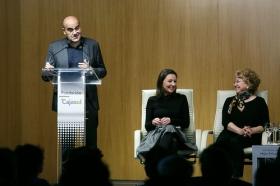 """Goya 2019 en Sevilla: Encuentro con los nominados a Mejor Película Iberoamericana en la Fundación Cajasol (24) • <a style=""""font-size:0.8em;"""" href=""""http://www.flickr.com/photos/129072575@N05/46966538661/"""" target=""""_blank"""">View on Flickr</a>"""