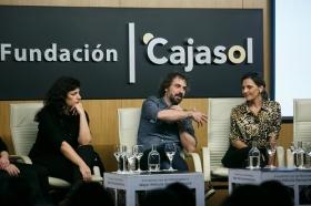 """Goya 2019 en Sevilla: Encuentro con los nominados a Mejor Película Iberoamericana en la Fundación Cajasol (16) • <a style=""""font-size:0.8em;"""" href=""""http://www.flickr.com/photos/129072575@N05/46242149694/"""" target=""""_blank"""">View on Flickr</a>"""