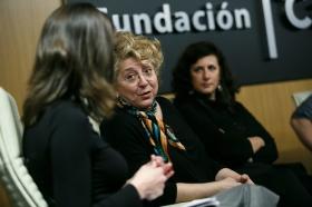 """Goya 2019 en Sevilla: Encuentro con los nominados a Mejor Película Iberoamericana en la Fundación Cajasol (19) • <a style=""""font-size:0.8em;"""" href=""""http://www.flickr.com/photos/129072575@N05/46242149464/"""" target=""""_blank"""">View on Flickr</a>"""