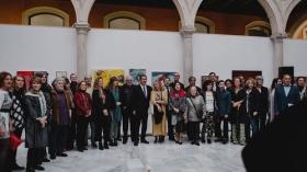 """Exposición-venta 'Artistas contra el hambre' en Sevilla (2) • <a style=""""font-size:0.8em;"""" href=""""http://www.flickr.com/photos/129072575@N05/32751884577/"""" target=""""_blank"""">View on Flickr</a>"""