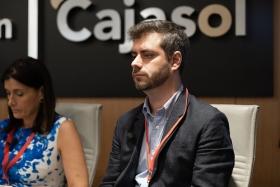 "IV Foro Iberoamericano de Alcaldes en la Fundación Cajasol (15) • <a style=""font-size:0.8em;"" href=""http://www.flickr.com/photos/129072575@N05/48744786986/"" target=""_blank"">View on Flickr</a>"