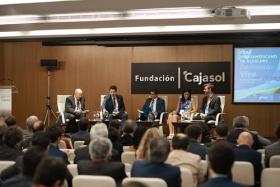 "IV Foro Iberoamericano de Alcaldes en la Fundación Cajasol (13) • <a style=""font-size:0.8em;"" href=""http://www.flickr.com/photos/129072575@N05/48744962087/"" target=""_blank"">View on Flickr</a>"