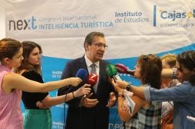 "IV Congreso Internacional de Inteligencia Turística en Málaga (4) • <a style=""font-size:0.8em;"" href=""http://www.flickr.com/photos/129072575@N05/48868684978/"" target=""_blank"">View on Flickr</a>"