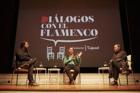 "Diálogos con el Flamenco 2019 en Sevilla: Rocío Molina e Isaki Lacuesta • <a style=""font-size:0.8em;"" href=""http://www.flickr.com/photos/129072575@N05/49063492333/"" target=""_blank"">View on Flickr</a>"