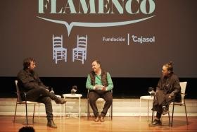 "Diálogos con el Flamenco 2019 en Sevilla: Rocío Molina e Isaki Lacuesta (7) • <a style=""font-size:0.8em;"" href=""http://www.flickr.com/photos/129072575@N05/49064005331/"" target=""_blank"">View on Flickr</a>"