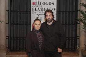 "Diálogos con el Flamenco 2019 en Sevilla: Rocío Molina e Isaki Lacuesta (6) • <a style=""font-size:0.8em;"" href=""http://www.flickr.com/photos/129072575@N05/49064216942/"" target=""_blank"">View on Flickr</a>"
