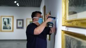 "Exposición 'Obra Gráfica en la Colección Fundación Cajasol' en Córdoba (Making Off) (8) • <a style=""font-size:0.8em;"" href=""http://www.flickr.com/photos/129072575@N05/49965979718/"" target=""_blank"">View on Flickr</a>"