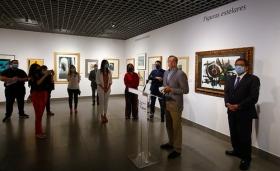 """Inauguración de la exposición 'Obra Gráfica de la Fundación Cajasol' en Córdoba • <a style=""""font-size:0.8em;"""" href=""""http://www.flickr.com/photos/129072575@N05/49973058136/"""" target=""""_blank"""">View on Flickr</a>"""