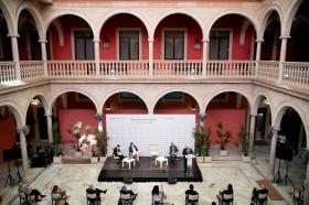 "Desayuno Informativo de Europa Press Andalucía: Jesús Aguirre (9) • <a style=""font-size:0.8em;"" href=""http://www.flickr.com/photos/129072575@N05/50169875157/"" target=""_blank"">View on Flickr</a>"