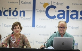 "'Reencuentros con la ciencia' en Cádiz: Javier Martínez de Salazar (3) • <a style=""font-size:0.8em;"" href=""http://www.flickr.com/photos/129072575@N05/50348397266/"" target=""_blank"">View on Flickr</a>"