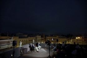 "'Reencuentros con el fútbol' en Cádiz: Monchi • <a style=""font-size:0.8em;"" href=""http://www.flickr.com/photos/129072575@N05/50348397706/"" target=""_blank"">View on Flickr</a>"