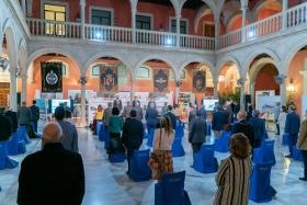 """Presentación del libro 'Tablada: la aviación y Sevilla' en la Fundación Cajasol (4) • <a style=""""font-size:0.8em;"""" href=""""http://www.flickr.com/photos/129072575@N05/50536805743/"""" target=""""_blank"""">View on Flickr</a>"""