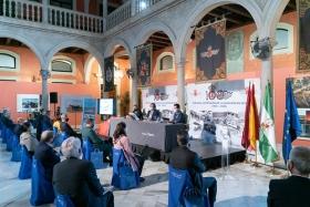 """Presentación del libro 'Tablada: la aviación y Sevilla' en la Fundación Cajasol (6) • <a style=""""font-size:0.8em;"""" href=""""http://www.flickr.com/photos/129072575@N05/50536807108/"""" target=""""_blank"""">View on Flickr</a>"""