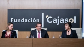 """Entrega de los I Premios Fundación Cajasol a la Investigación en Tecnologías de la Información y Comunicación en Biomedicina (12) • <a style=""""font-size:0.8em;"""" href=""""http://www.flickr.com/photos/129072575@N05/32597540877/"""" target=""""_blank"""">View on Flickr</a>"""