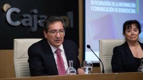 """Entrega de los I Premios Fundación Cajasol a la Investigación en Tecnologías de la Información y Comunicación en Biomedicina (13) • <a style=""""font-size:0.8em;"""" href=""""http://www.flickr.com/photos/129072575@N05/32597540947/"""" target=""""_blank"""">View on Flickr</a>"""