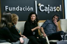 """Goya 2019 en Sevilla: Encuentro con los nominados a Mejor Película Iberoamericana en la Fundación Cajasol (20) • <a style=""""font-size:0.8em;"""" href=""""http://www.flickr.com/photos/129072575@N05/46242149384/"""" target=""""_blank"""">View on Flickr</a>"""