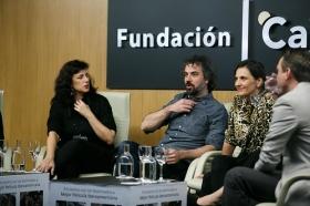 """Goya 2019 en Sevilla: Encuentro con los nominados a Mejor Película Iberoamericana en la Fundación Cajasol (15) • <a style=""""font-size:0.8em;"""" href=""""http://www.flickr.com/photos/129072575@N05/46242149804/"""" target=""""_blank"""">View on Flickr</a>"""