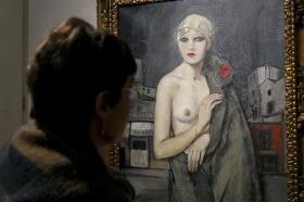 """Exposición 'Enrique Ochoa: La mirada en la mujer' en la Fundación Cajasol (28) • <a style=""""font-size:0.8em;"""" href=""""http://www.flickr.com/photos/129072575@N05/46459464374/"""" target=""""_blank"""">View on Flickr</a>"""