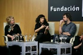 """Goya 2019 en Sevilla: Encuentro con los nominados a Mejor Película Iberoamericana en la Fundación Cajasol (18) • <a style=""""font-size:0.8em;"""" href=""""http://www.flickr.com/photos/129072575@N05/46242149544/"""" target=""""_blank"""">View on Flickr</a>"""