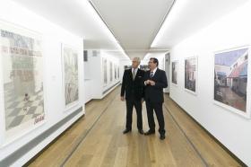 "Exposición 'Dos clausuras', de Pepe Cobo, en la Fundación Cajasol (3) • <a style=""font-size:0.8em;"" href=""http://www.flickr.com/photos/129072575@N05/46410843865/"" target=""_blank"">View on Flickr</a>"