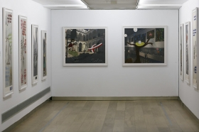 "Exposición 'Dos clausuras', de Pepe Cobo, en la Fundación Cajasol (15) • <a style=""font-size:0.8em;"" href=""http://www.flickr.com/photos/129072575@N05/46410843295/"" target=""_blank"">View on Flickr</a>"