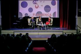 """Presentación del libro 'Flamenca', de Raquel Revuelta, en la Fundación Cajasol (15) • <a style=""""font-size:0.8em;"""" href=""""http://www.flickr.com/photos/129072575@N05/46646884182/"""" target=""""_blank"""">View on Flickr</a>"""