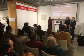 "Exposición 'El infinito Borges' en Córdoba (22) • <a style=""font-size:0.8em;"" href=""http://www.flickr.com/photos/129072575@N05/45827718905/"" target=""_blank"">View on Flickr</a>"