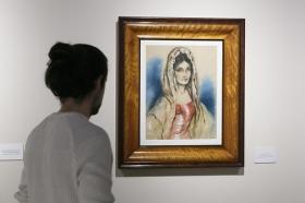 """Exposición 'Enrique Ochoa: La mirada en la mujer' en la Fundación Cajasol (20) • <a style=""""font-size:0.8em;"""" href=""""http://www.flickr.com/photos/129072575@N05/46459463214/"""" target=""""_blank"""">View on Flickr</a>"""