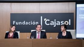 """Entrega de los I Premios Fundación Cajasol a la Investigación en Tecnologías de la Información y Comunicación en Biomedicina (14) • <a style=""""font-size:0.8em;"""" href=""""http://www.flickr.com/photos/129072575@N05/32597540937/"""" target=""""_blank"""">View on Flickr</a>"""
