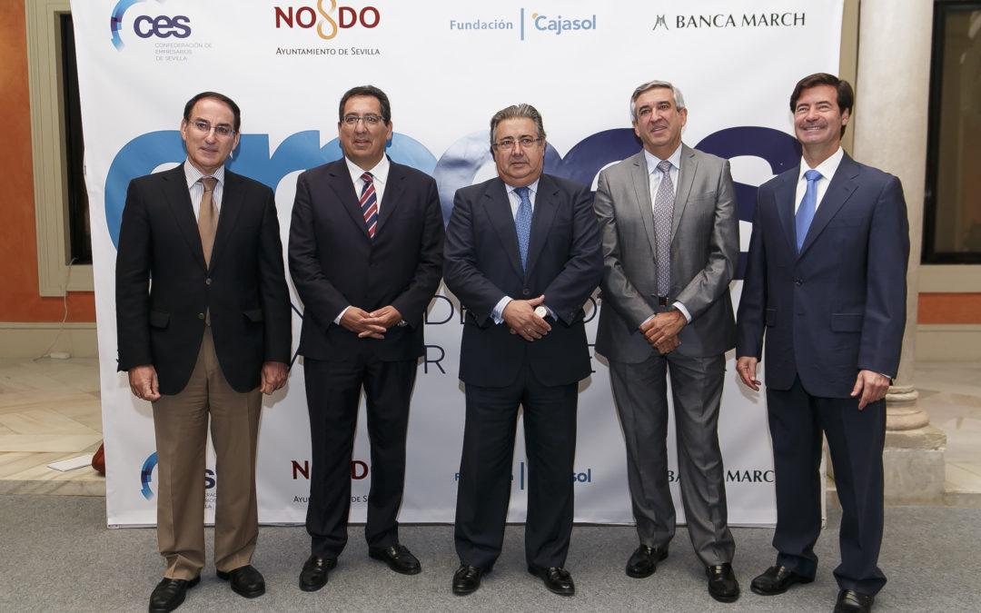 Jornada inaugural del Centro de Apoyo al Inversor de Sevilla en la Fundación Cajasol