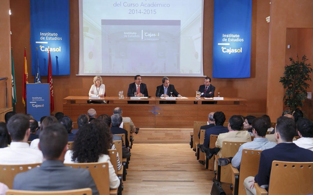 El Instituto de Estudios Cajasol inaugura el nuevo curso académico 2014/2015 con un incremento del 30% en las matriculaciones