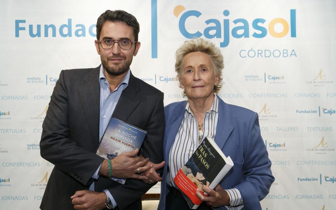 Doble cita con Màxim Huerta y Begoña Aranguren y la Novela Pasional en un nuevo encuentro del Ciclo de Narrativa de la Fundación Cajasol