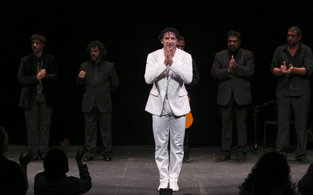 'Ángel: del blanco al negro', espectáculo de Ángel Muñoz en los Jueves Flamencos de la Fundación Cajasol
