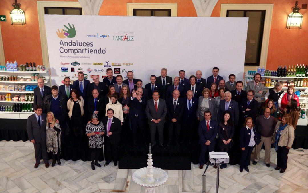 Andaluces Compartiendo celebra su primer aniversario superando el millón de kilos de productos repartidos
