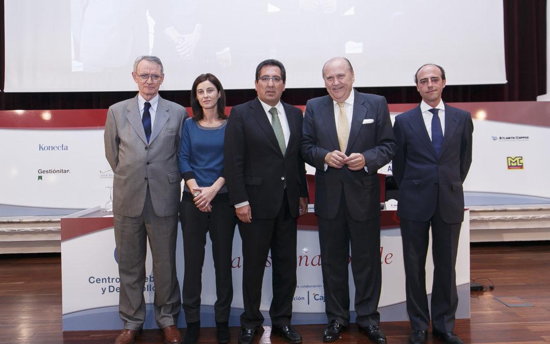 El Centro de Debate y Desarrollo se presenta en la Fundación Cajasol
