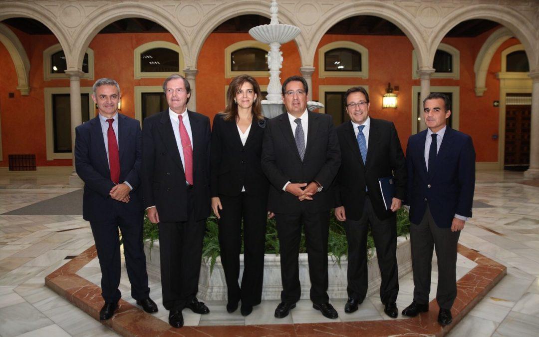 La Fundación Cajasol acoge la inauguración de las jornadas 'Talento en crecimiento' de la Confederación española de Directivos y Ejecutivos
