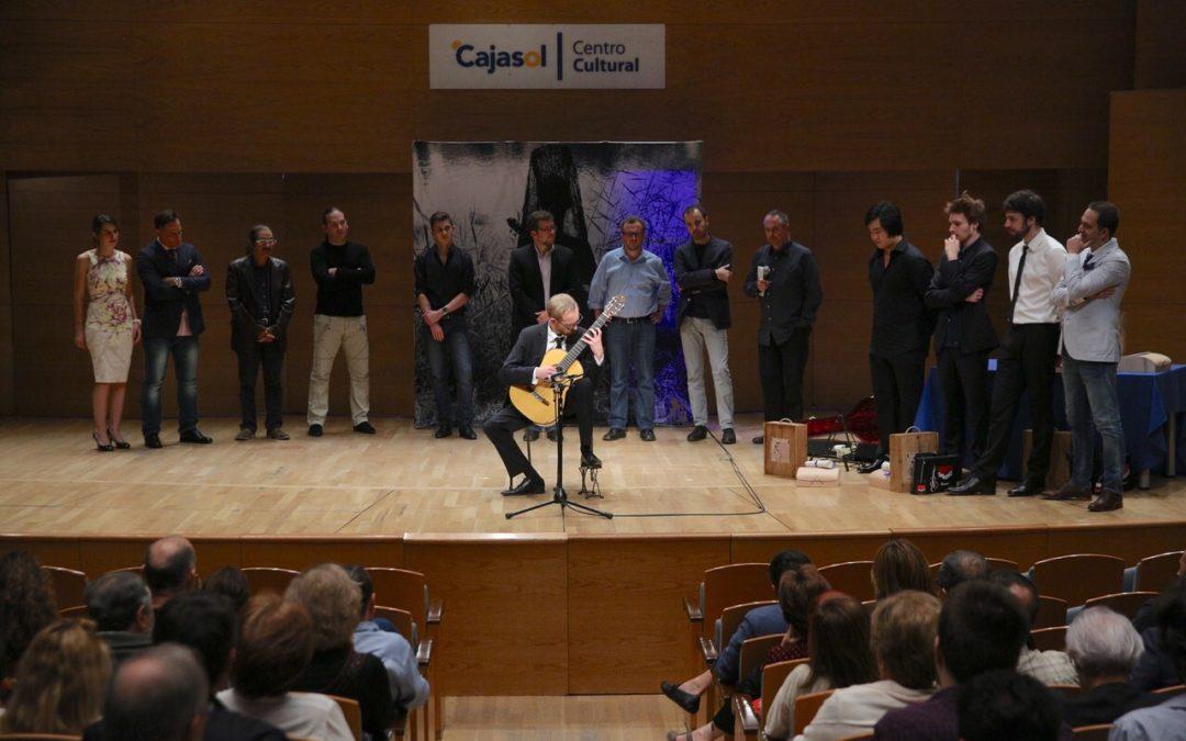 Florian Larousse, ganador del V Festival de la Guitarra de Sevilla