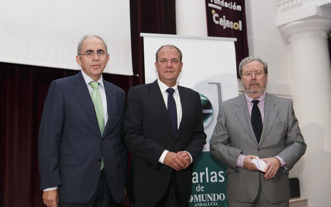 José Antonio Monago participa en las Charlas de El Mundo de Andalucía con su conferencia 'Extremadura, un modelo competitivo en el Sur'
