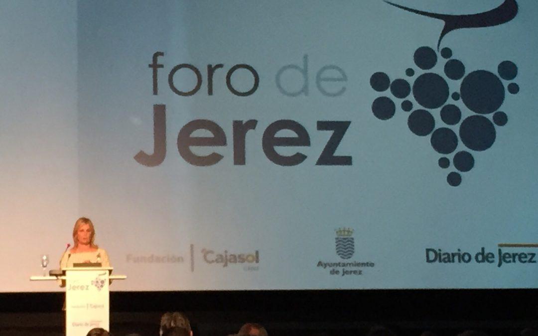 """La Fundación Cajasol, presente en el I Foro de Jerez, """"con compromiso firme y decidido por esta ciudad"""""""