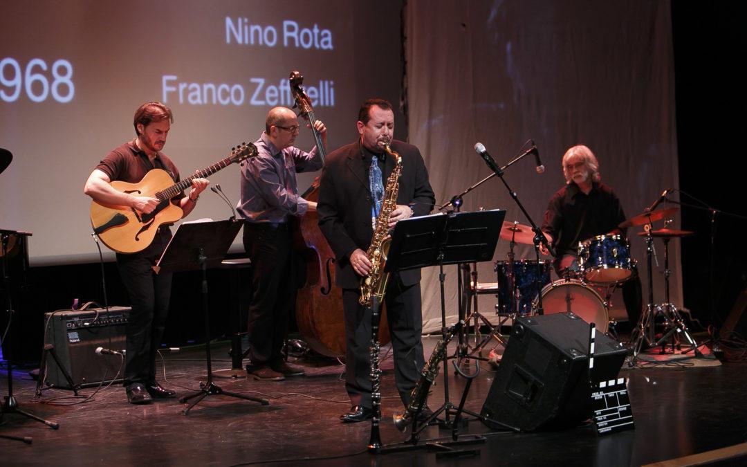 Fusión de jazz y cine con 'Jazz en 35 mm' dentro del ciclo 'Jazz en el Sur' en el Centro Cultural Cajasol