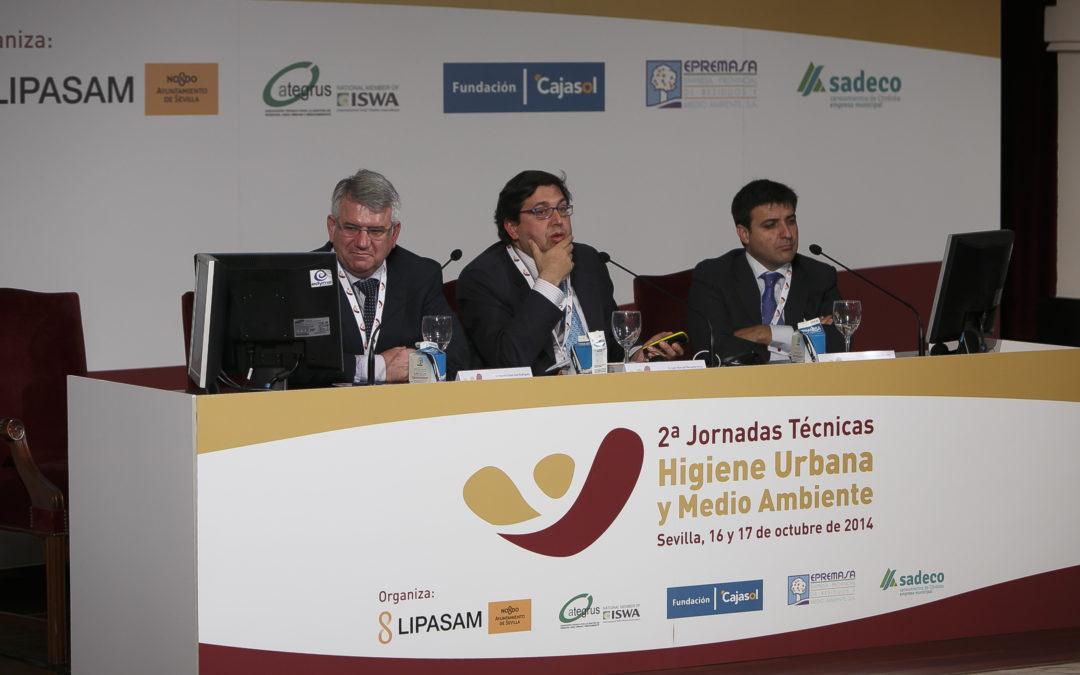 La Fundación Cajasol acoge II Jornadas Técnicas sobre Higiene Urbana y Medio Ambiente, organizadas por Lipasam