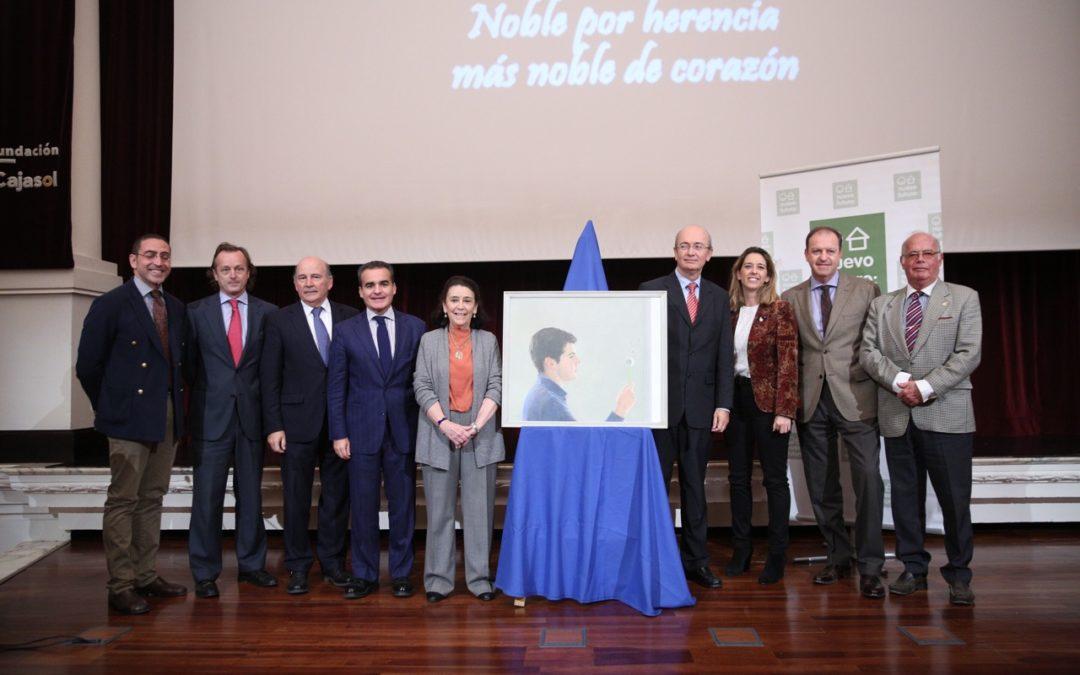 La Fundación Cajasol acoge la presentación del cartel del rastrillo Nuevo Futuro 2015