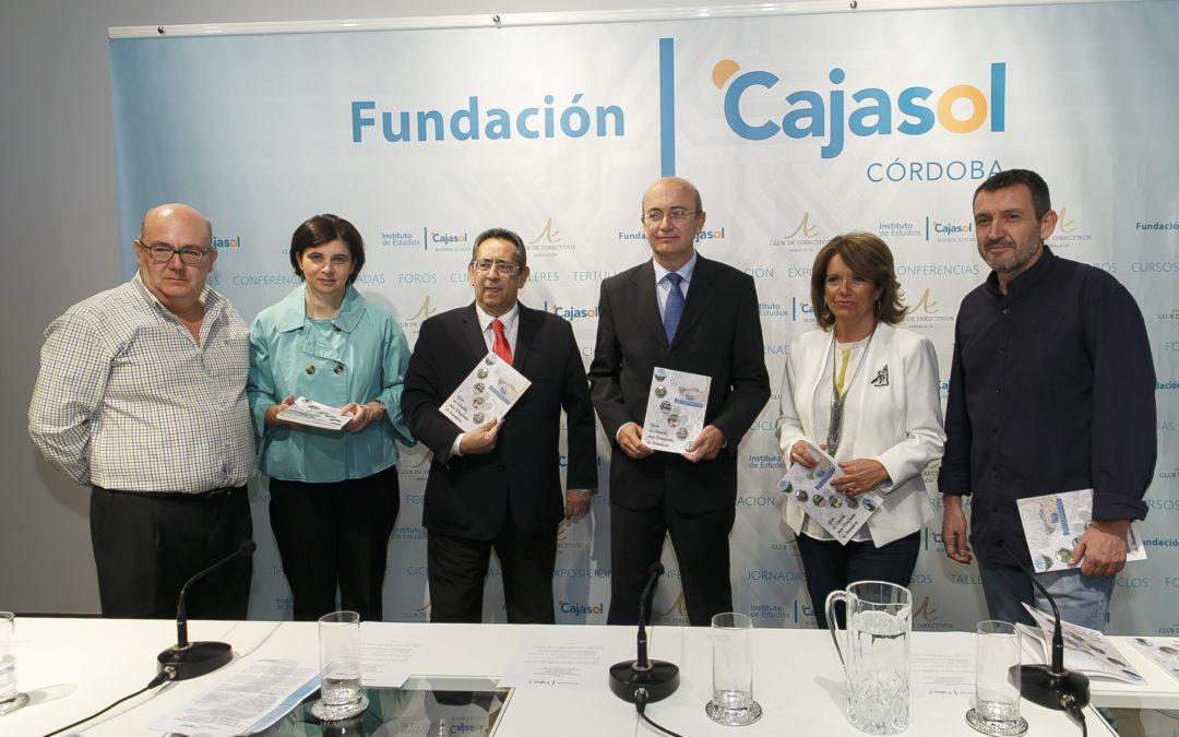 La Fundación Cajasol y la Delegación Territorial de Educación presentan la Guía de Córdoba para estudiantes de secundaria 'Los patrimonitos'