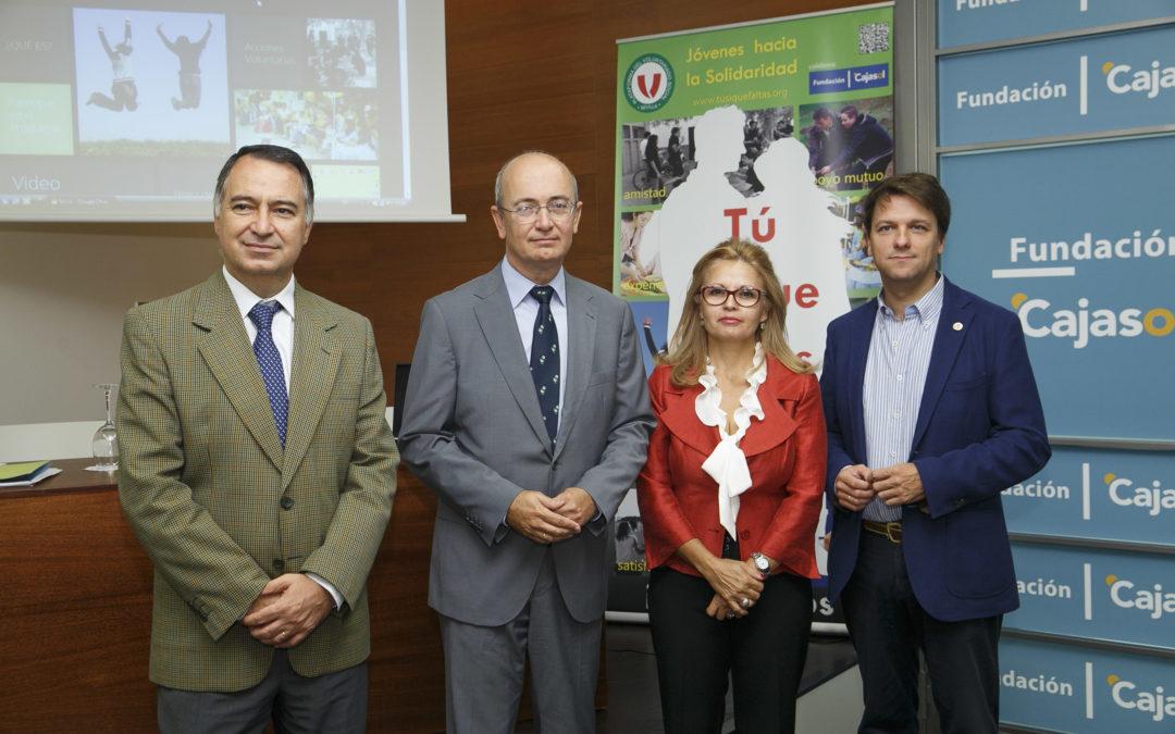 La Fundación Cajasol colabora con el programa de jóvenes para el voluntariado 'Tú sí que faltas'