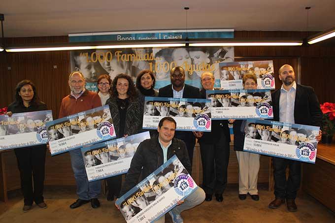 Un total de 160 familias se beneficiarán de los bonos sociales de la Fundación Cajasol en Huelva